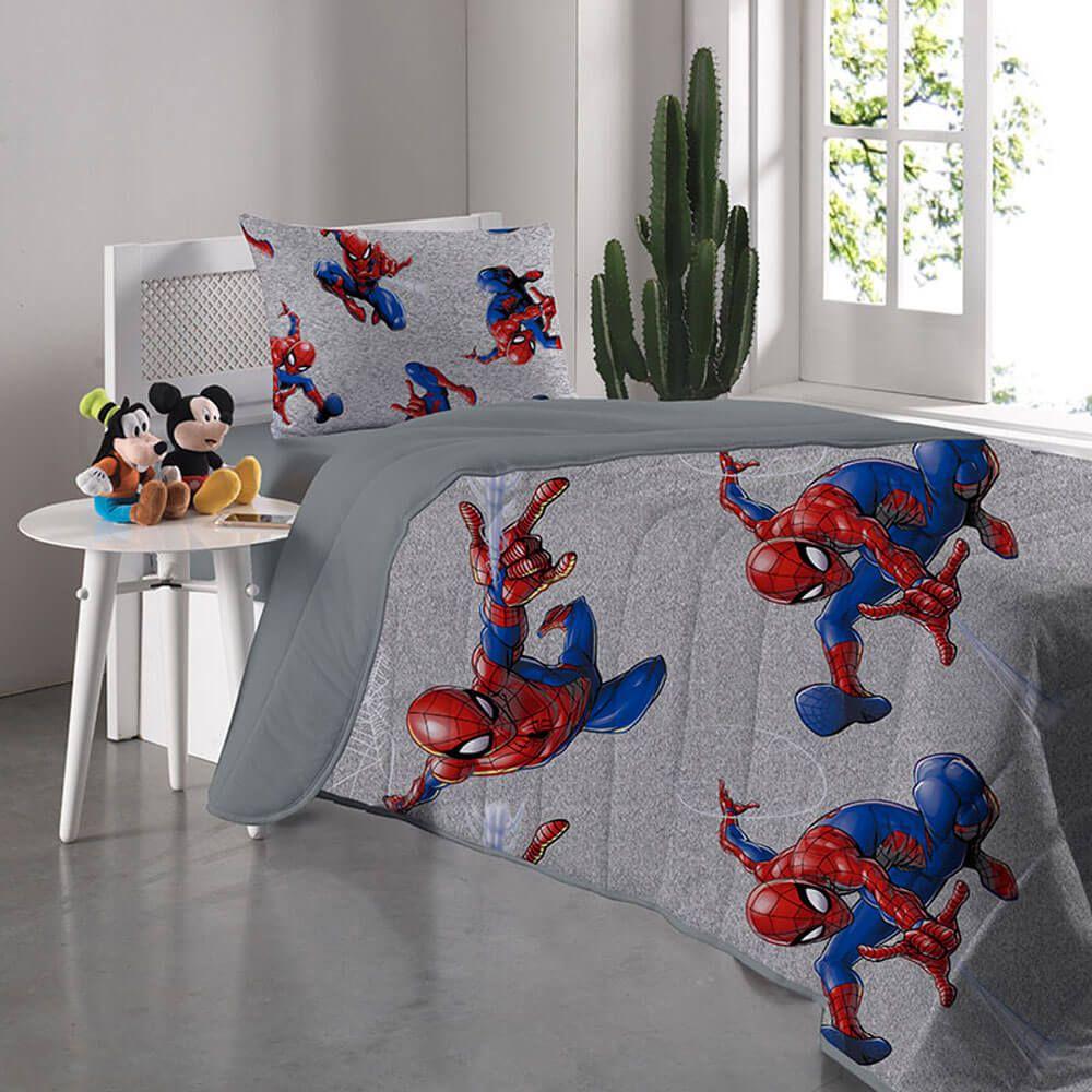 Colcha Infantil Homem Aranha