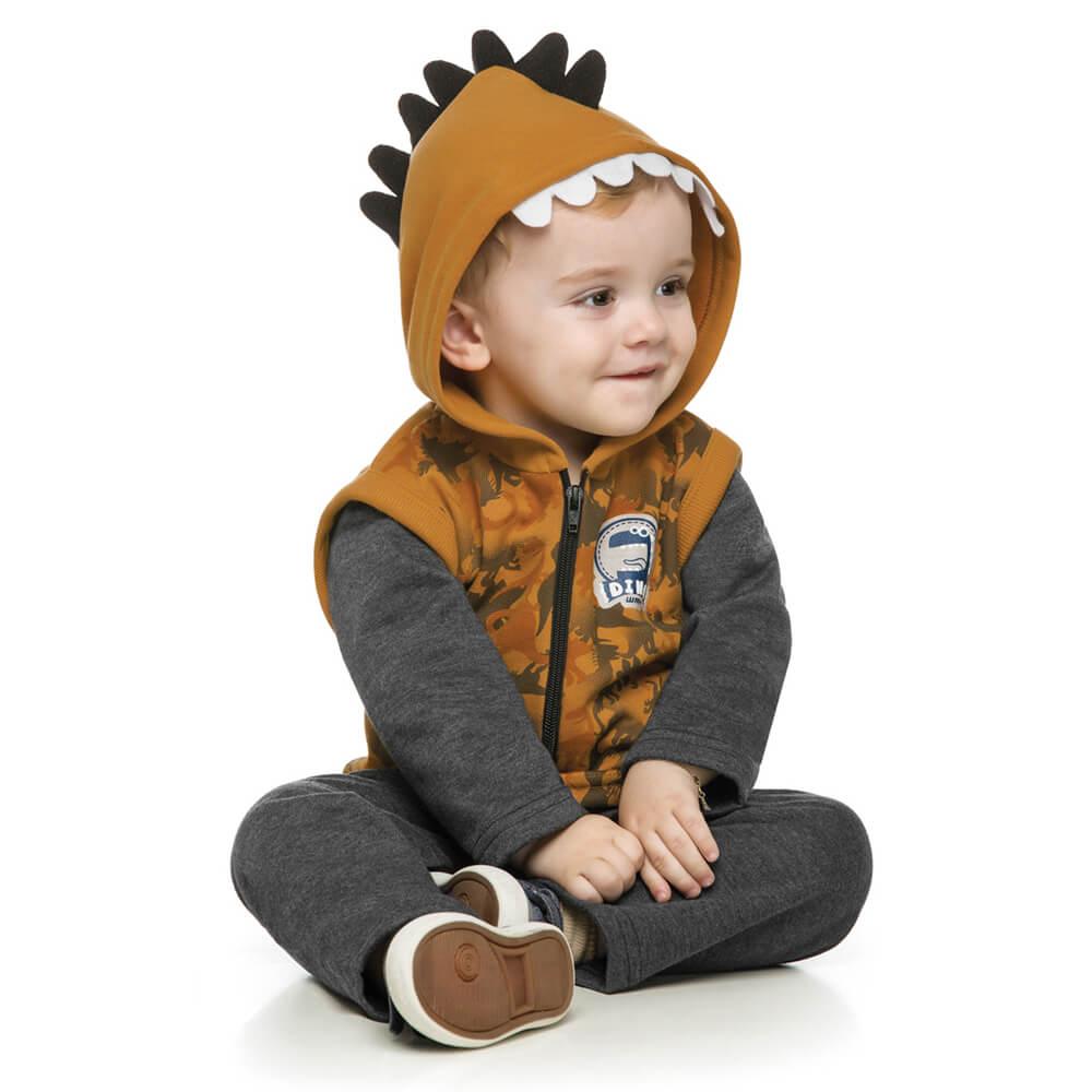 Conjunto Bebê Dinossauro