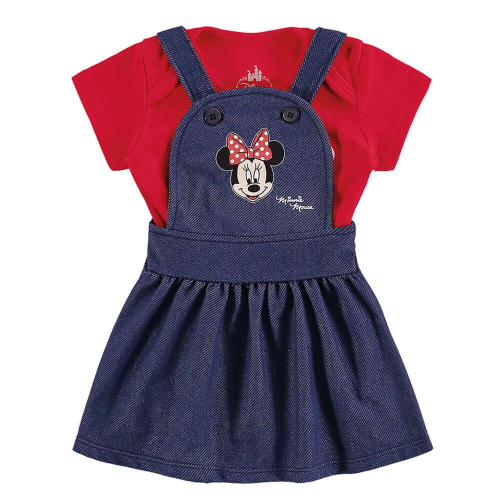 Conjunto Bebê Menina Minnie