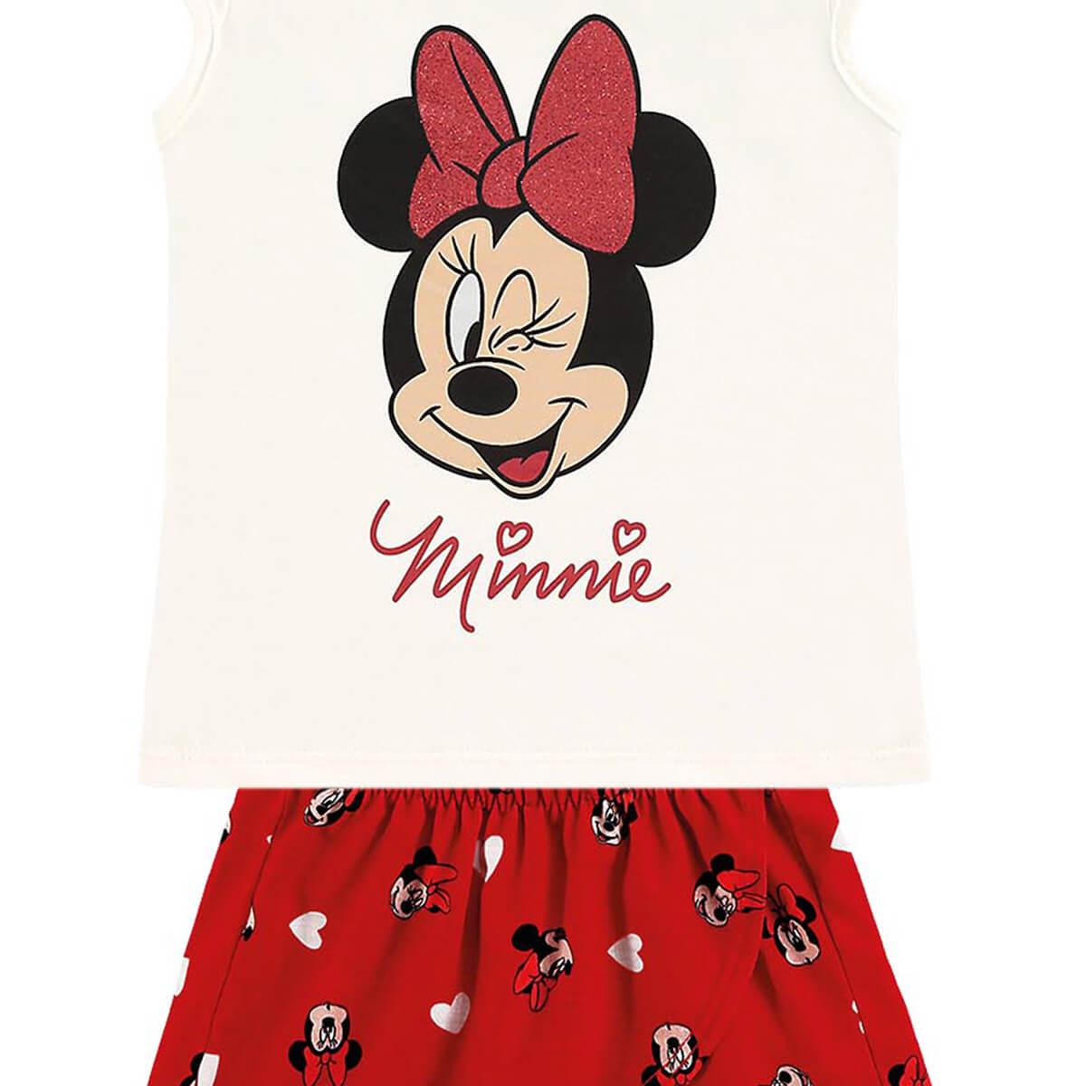 Conjunto Bebê Menina Minnie Charm