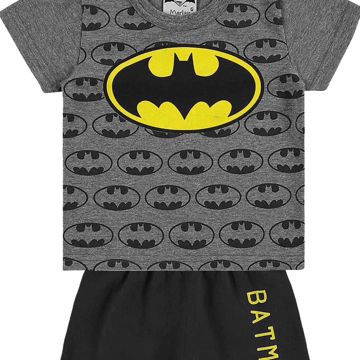 Conjunto Bebê Menino Batman