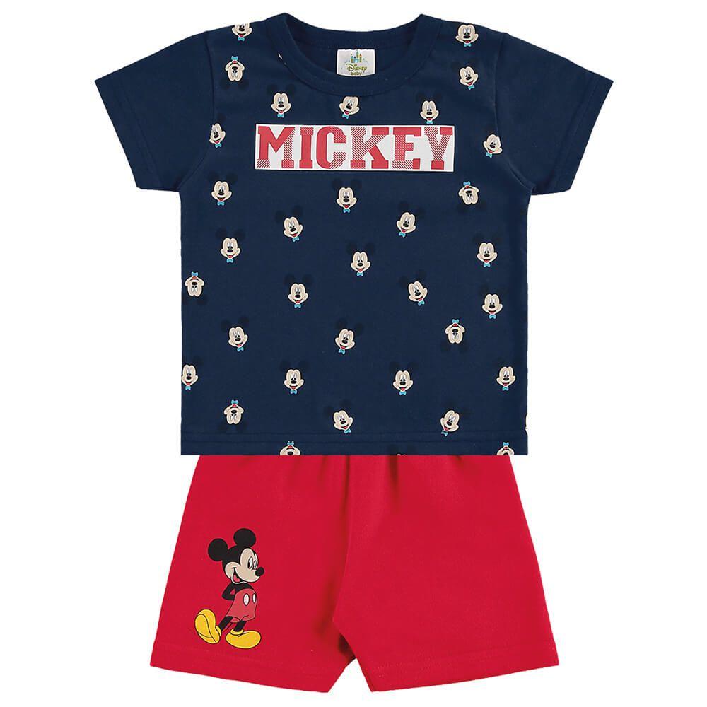 Conjunto Bebê Menino Mickey