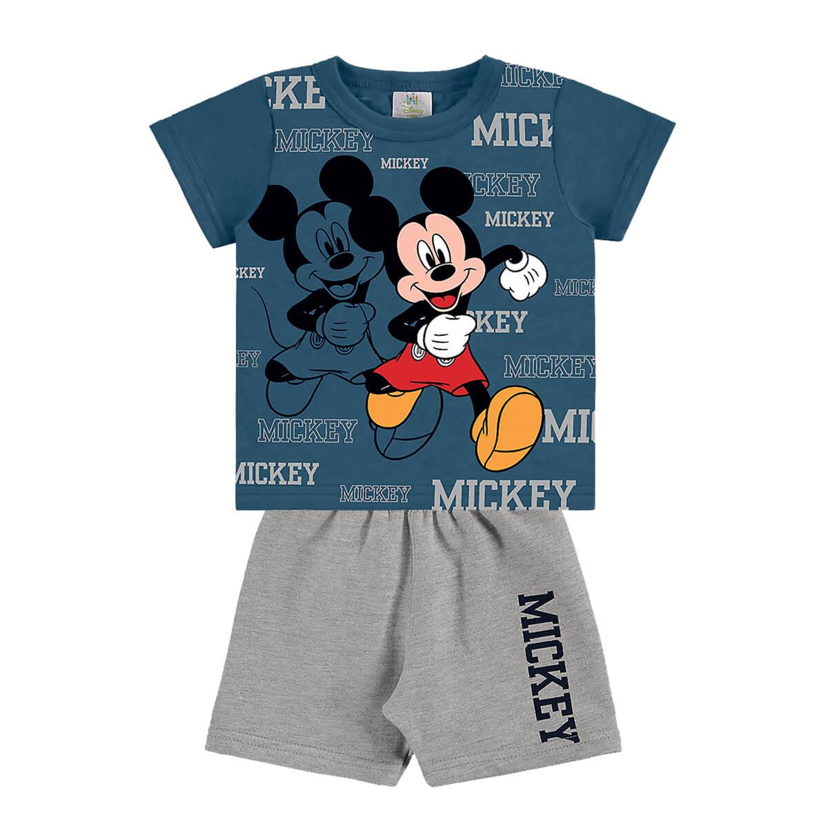 Conjunto Bebê Menino Mickey Mouse