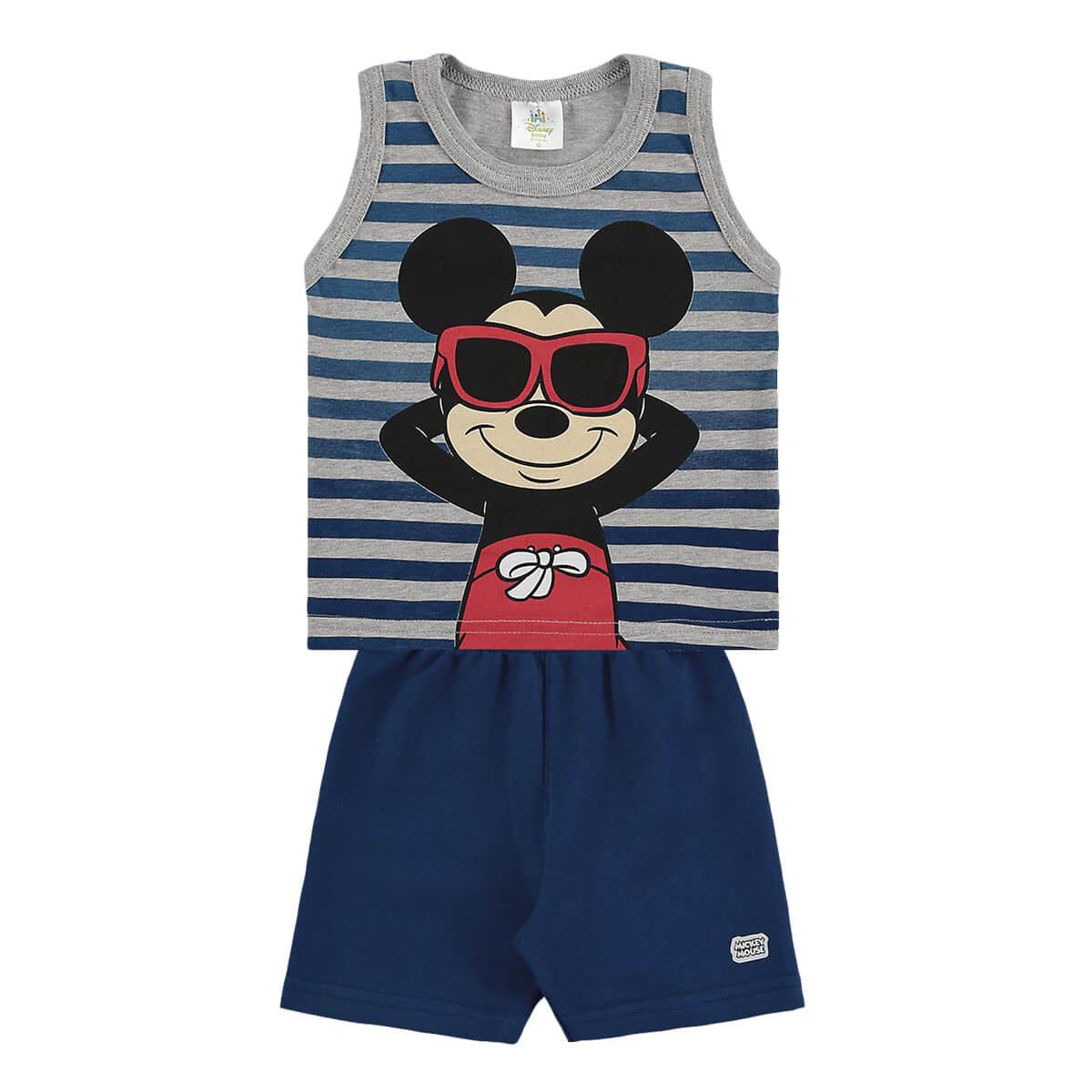 Conjunto Bebê Menino Mickey Relax