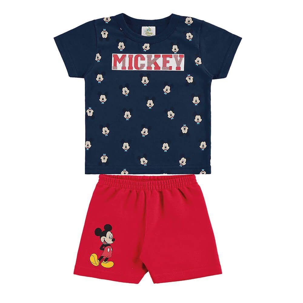 Conjunto Bebê Mickey