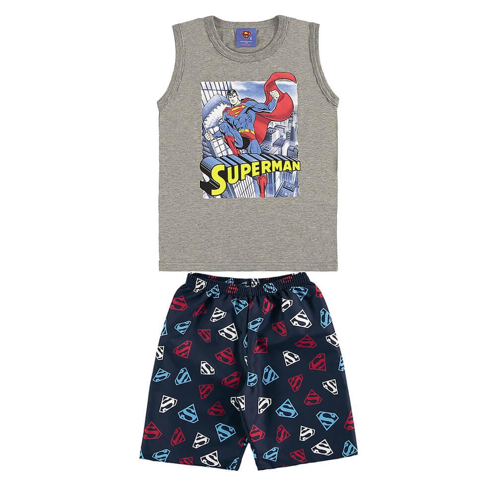 Conjunto Infantil Super Homem
