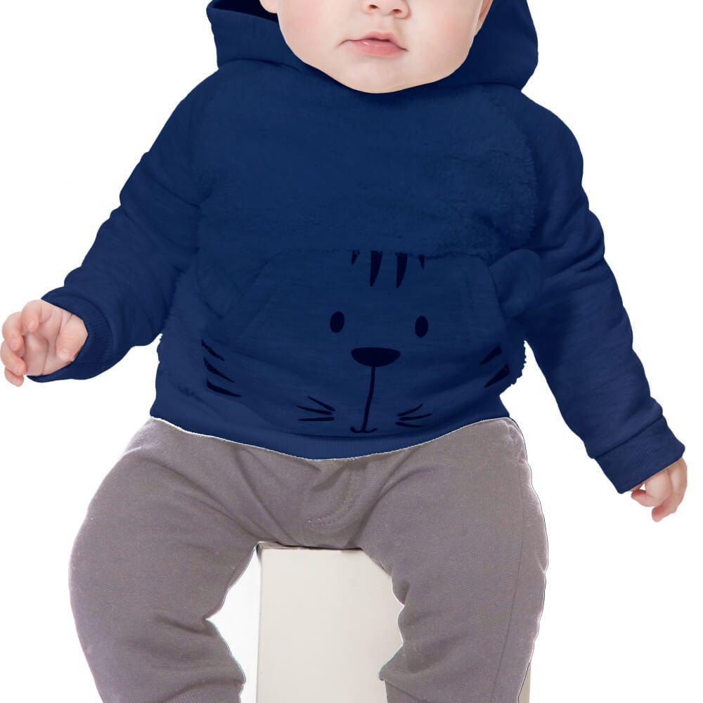 Conjunto Bebê Tigre Marinho