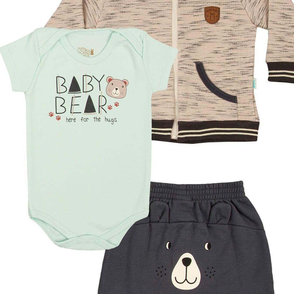 Conjunto Bebê Urso com Body