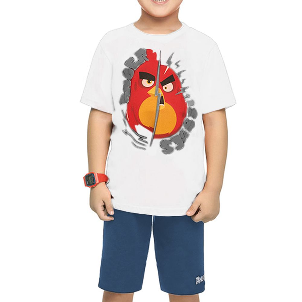Conjunto Infantil Angry Birds Ssues