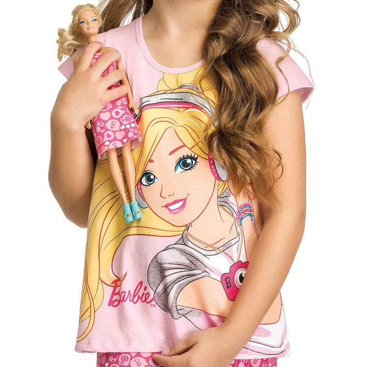 Conjunto Infantil Barbie Doll