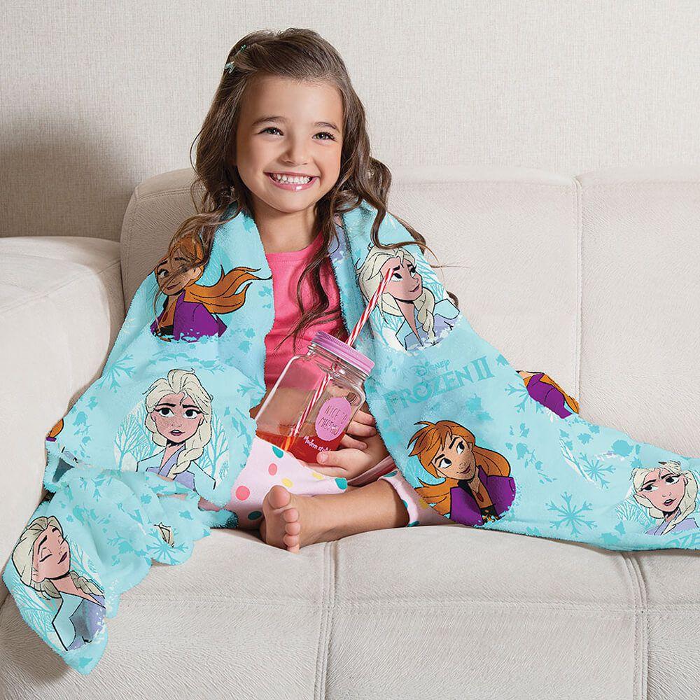 Manta de Sofá Infantil Frozen