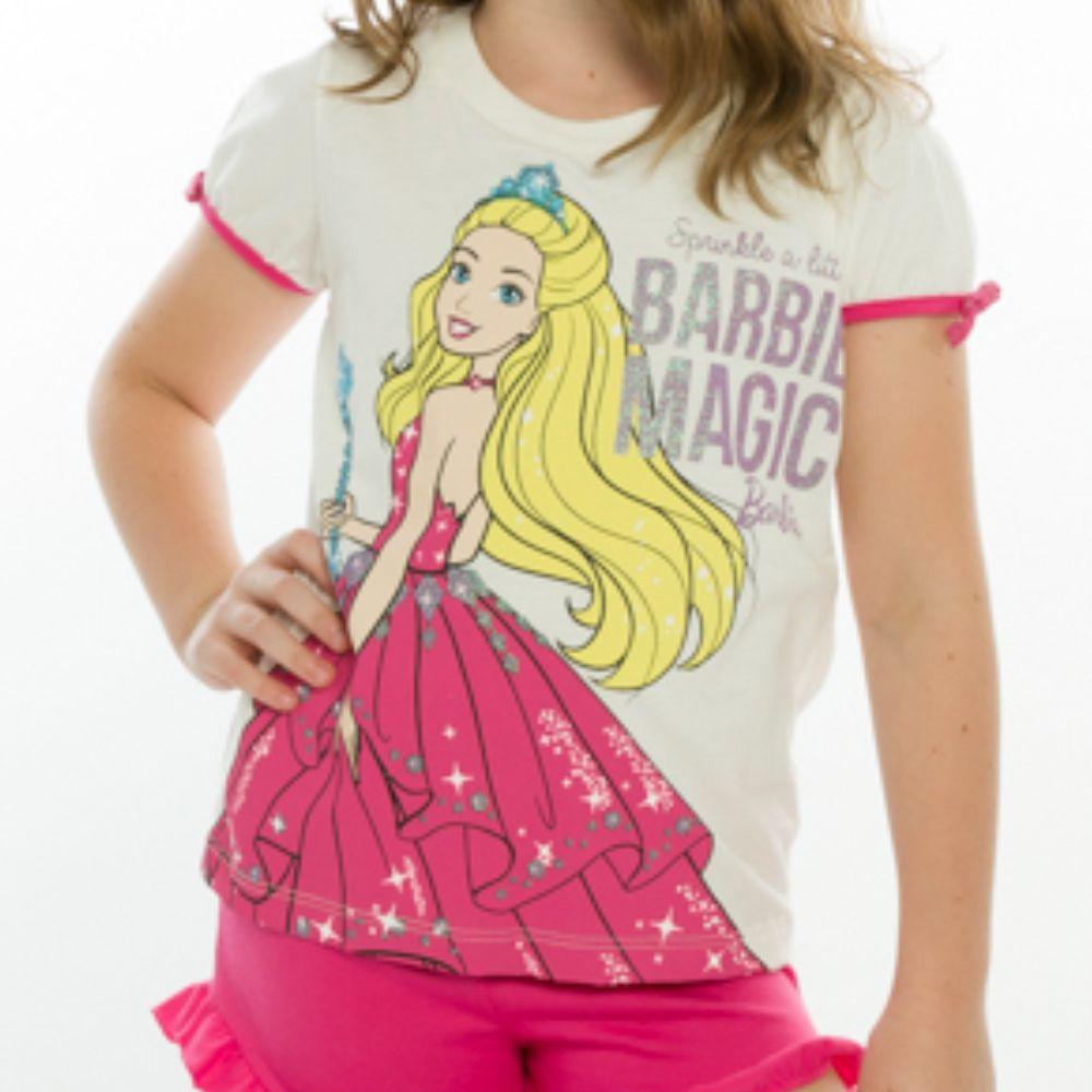 Pijama Infantil Barbie Magic