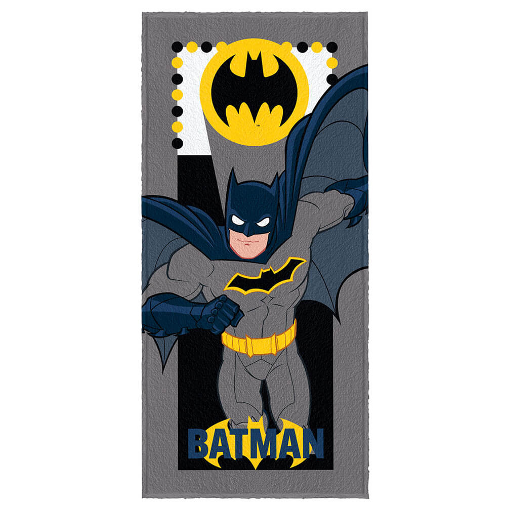 Toalha de Banho Infantil Batman Batsinal