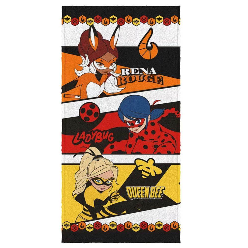 Toalha de Banho Infantil Ladybug Trio
