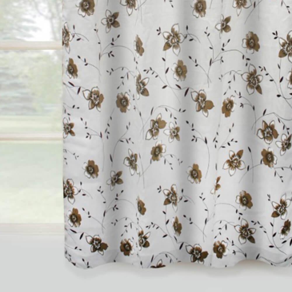Cortina Açucena Estampada Floral Amélia