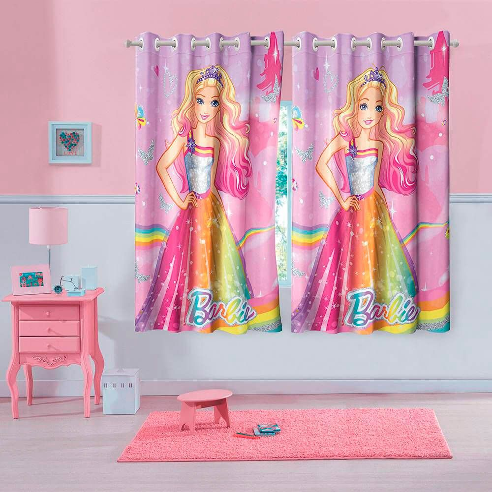 Cortina Infantil Barbie