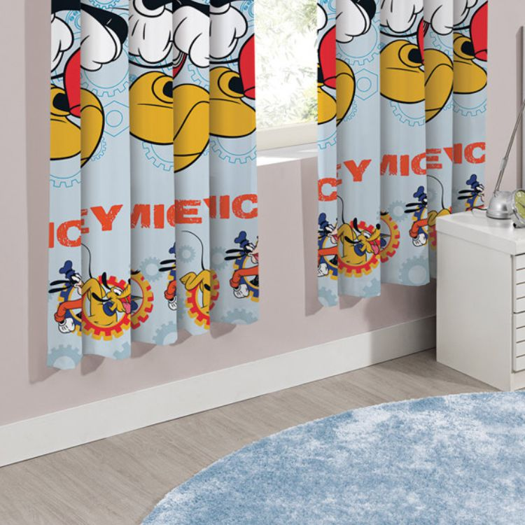 Cortina Infantil Santista Mickey Fun