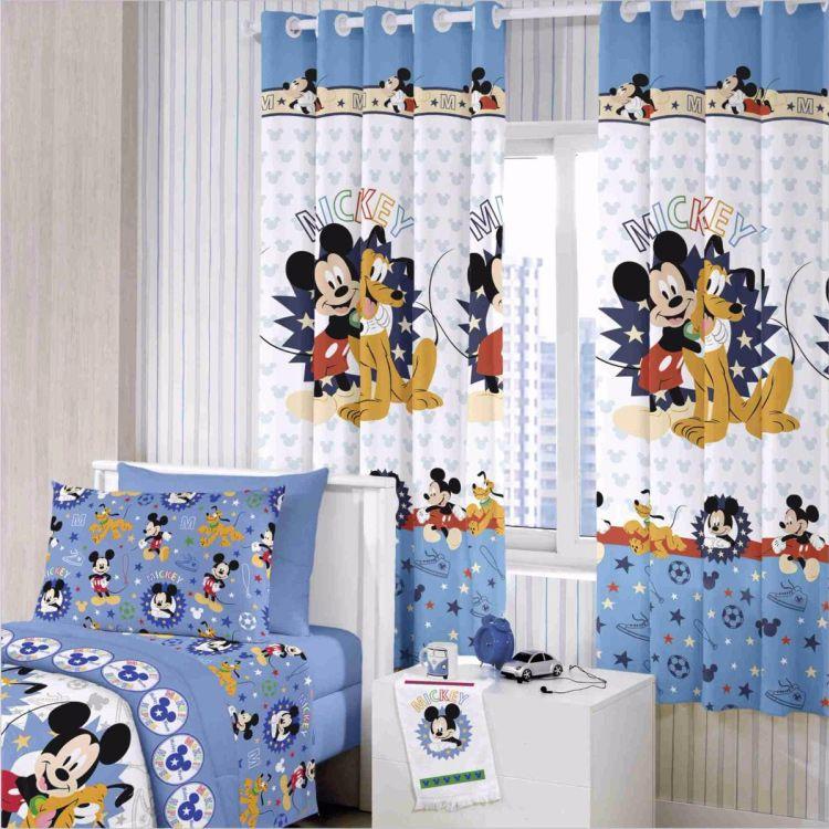 Cortina Infantil Santista Mickey Happy
