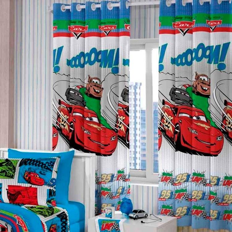 Cortina Infantil Santista Cars Comics