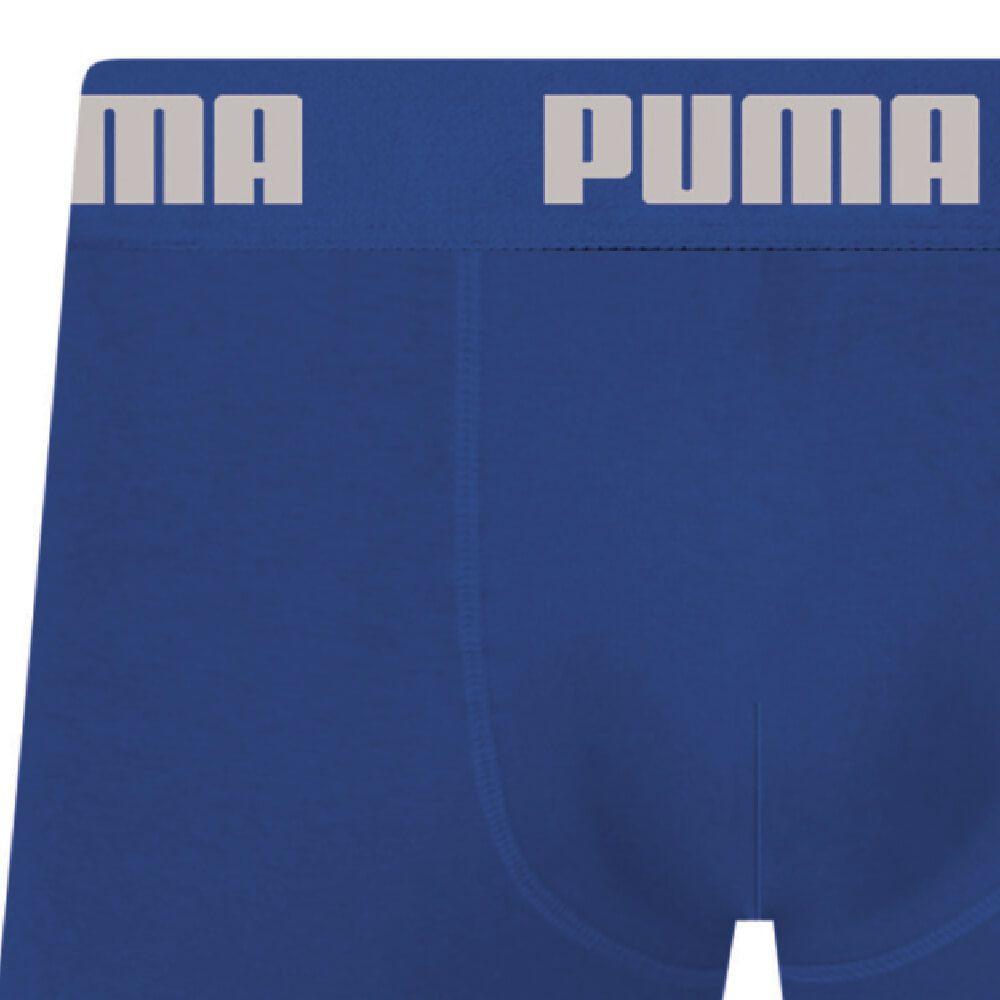 Cueca Boxer Puma Algodão Azul