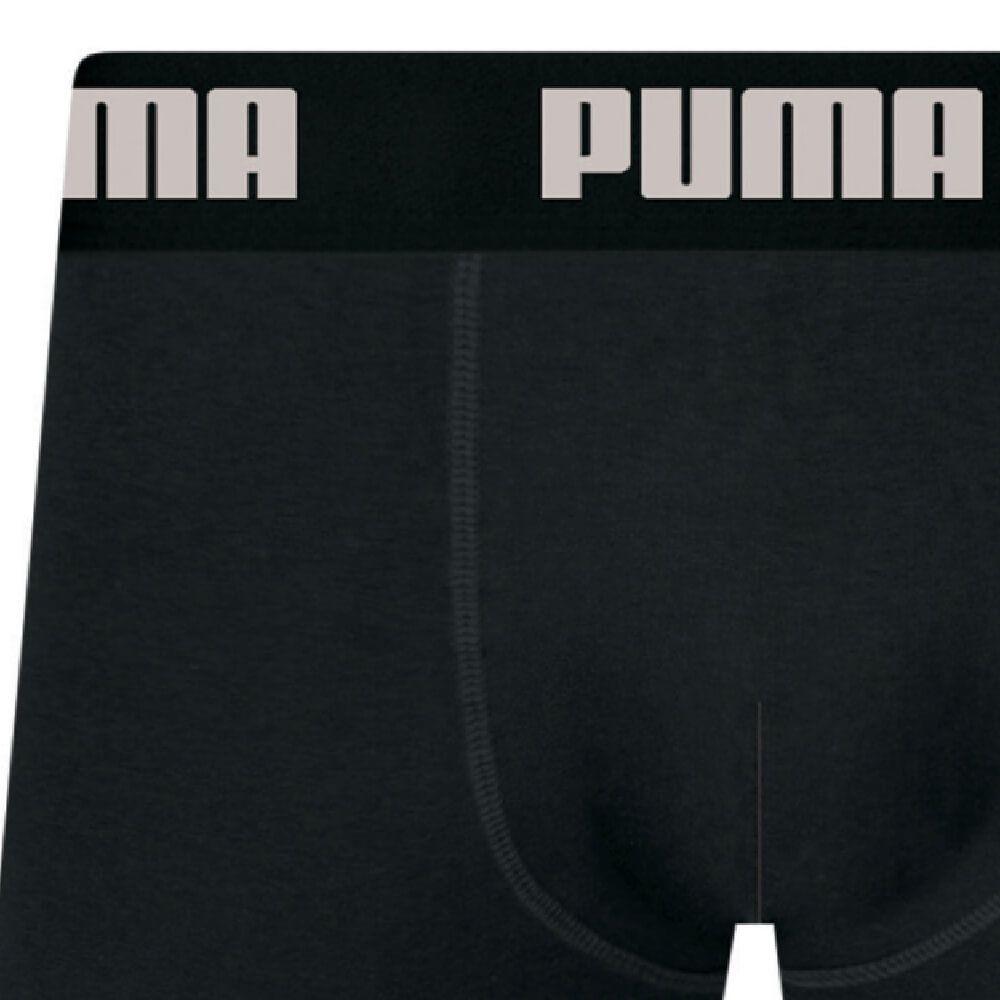 Cueca Boxer Puma Algodão Preta