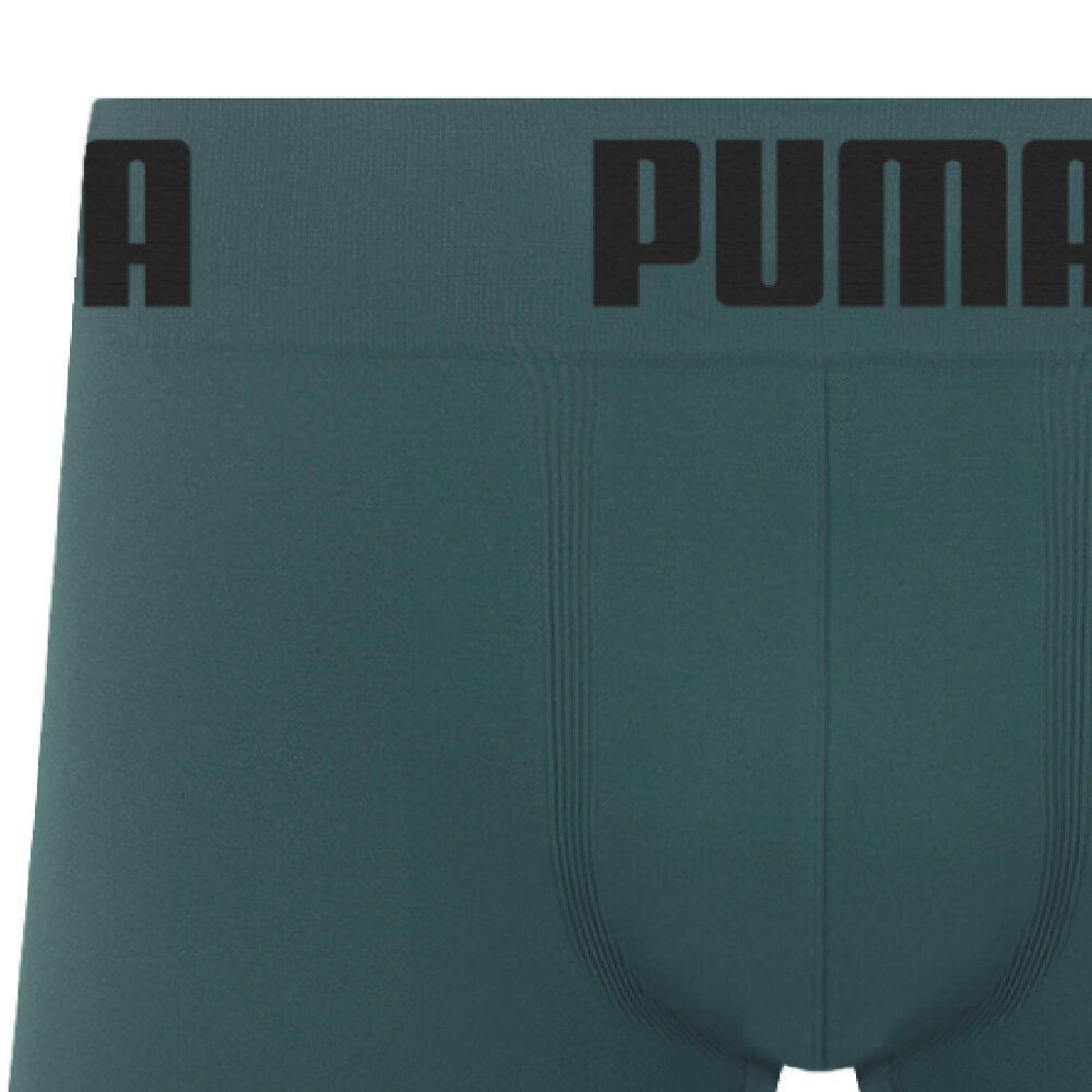 Cueca Boxer Puma Microfibra Ciano