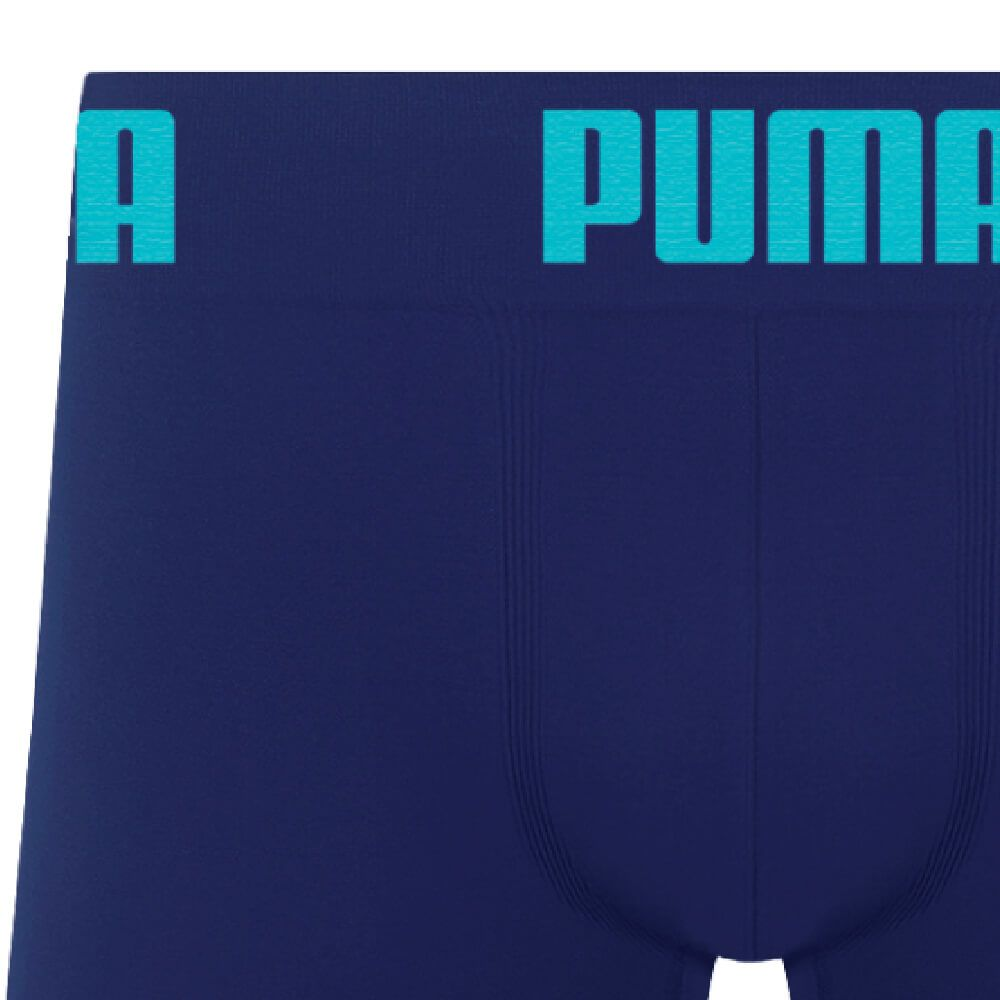 Cueca Boxer Puma Microfibra Marinho