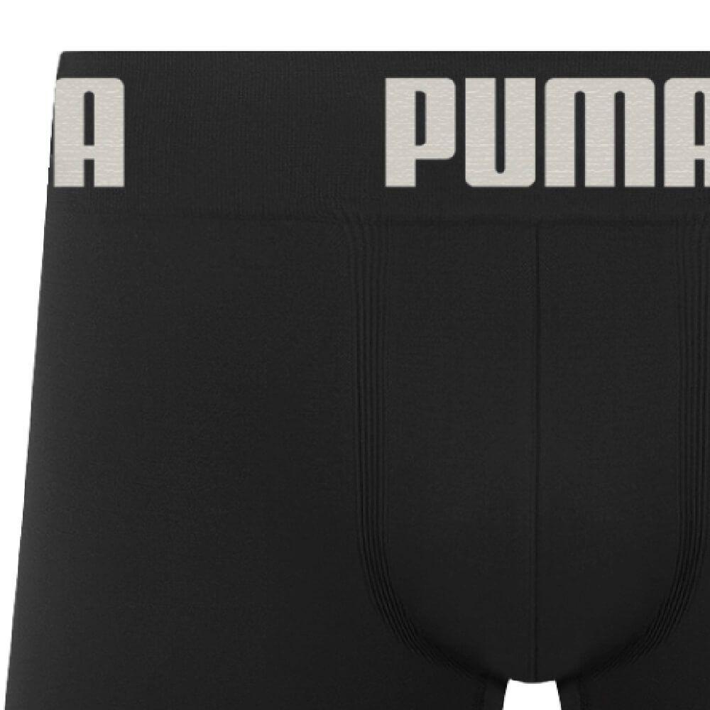Cueca Boxer Puma Microfibra Preta