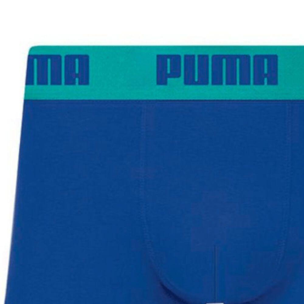 Cueca Boxer Puma Sunga Algodão Azul