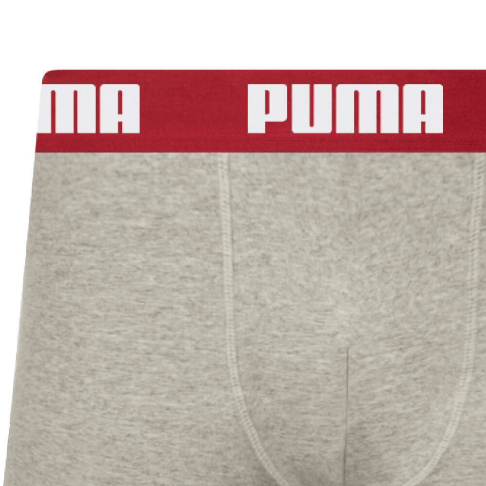 Cueca Boxer Puma Sunga Algodão Cinza