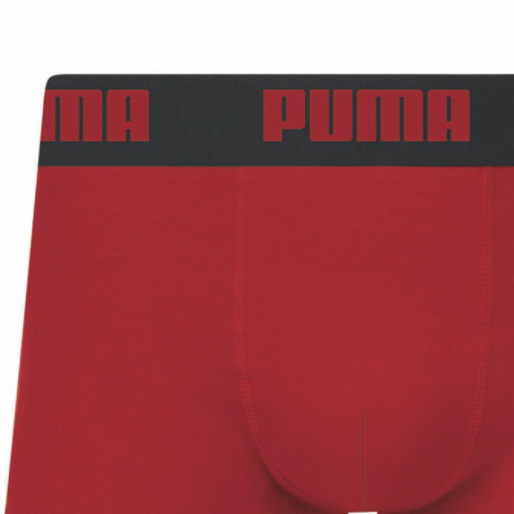 Cueca Boxer Puma Sunga Algodão Vermelha