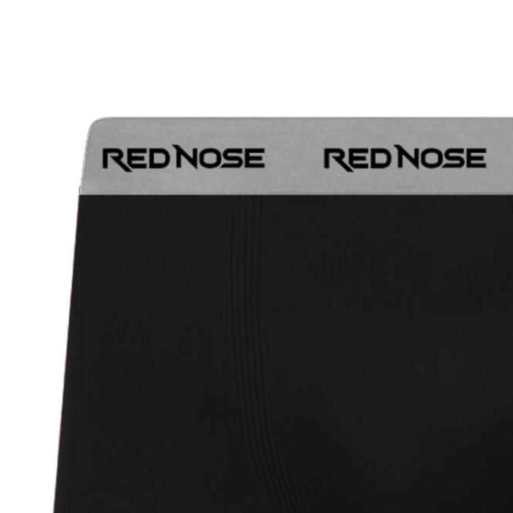 Cueca Boxer Red Nose Microfibra Preta
