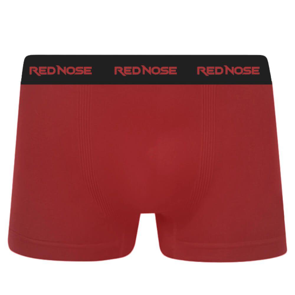Cueca Boxer Red Nose Microfibra Vermelha