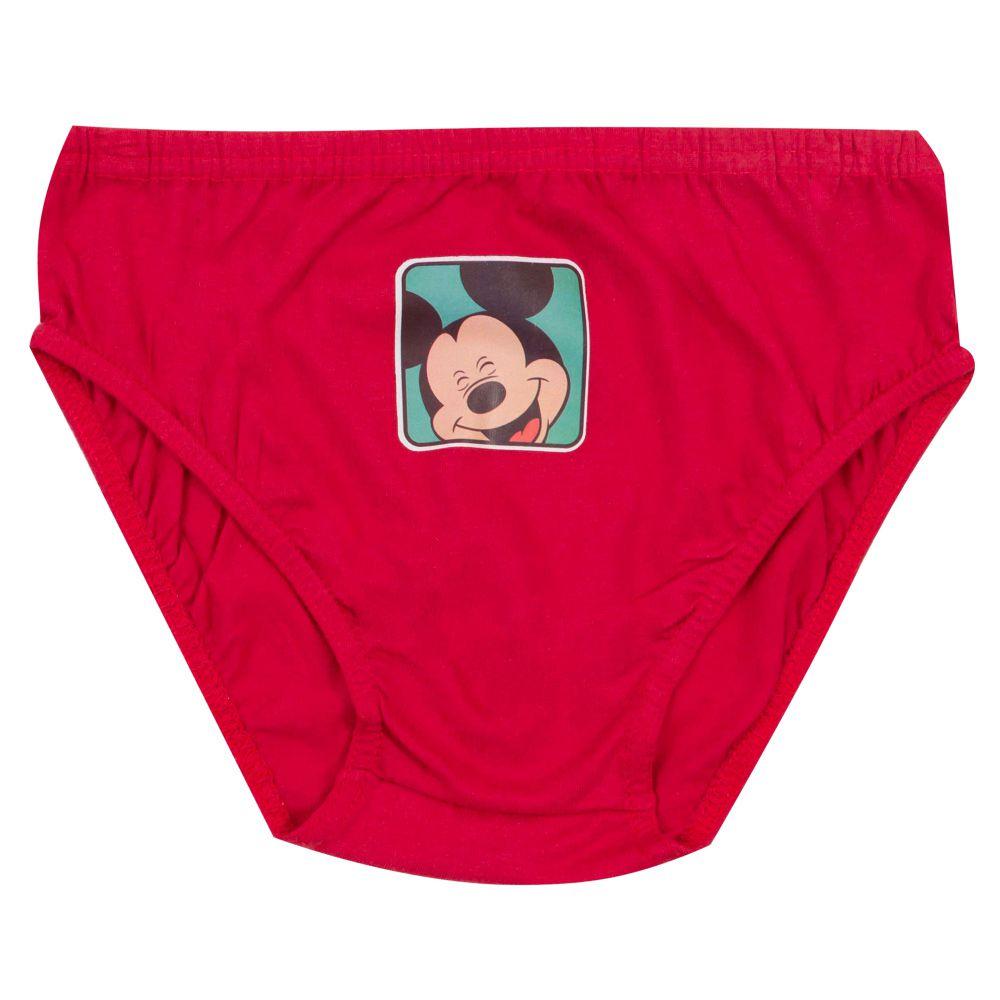 Cueca Infantil Mickey Kit com 3 Peças