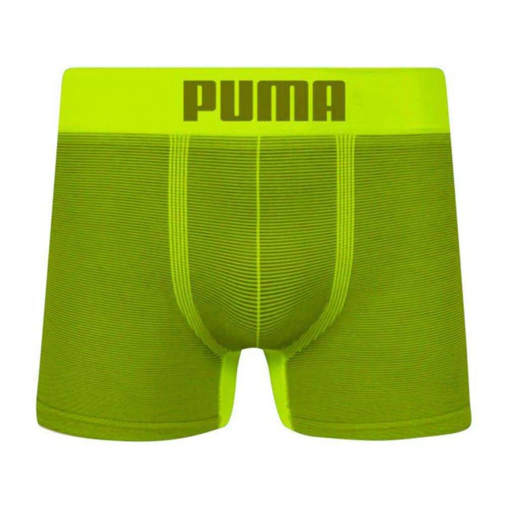 Cueca Puma Boxer Microfibra Listrada