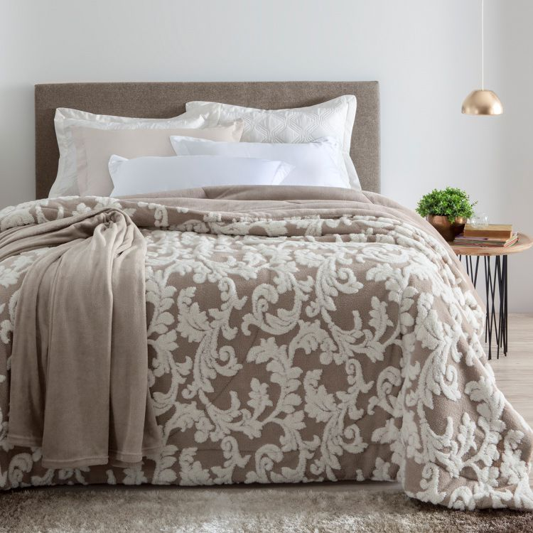Cobertor Casal Home Design Arabesque