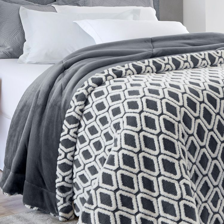 Cobertor Casal Home Design Ravi