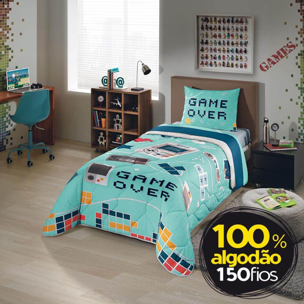 Edredom Infantil 150 Fios Game