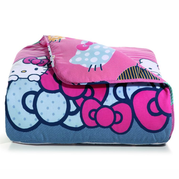 Edredom Infantil Artex Total Mix Hello Kitty 180 Fios