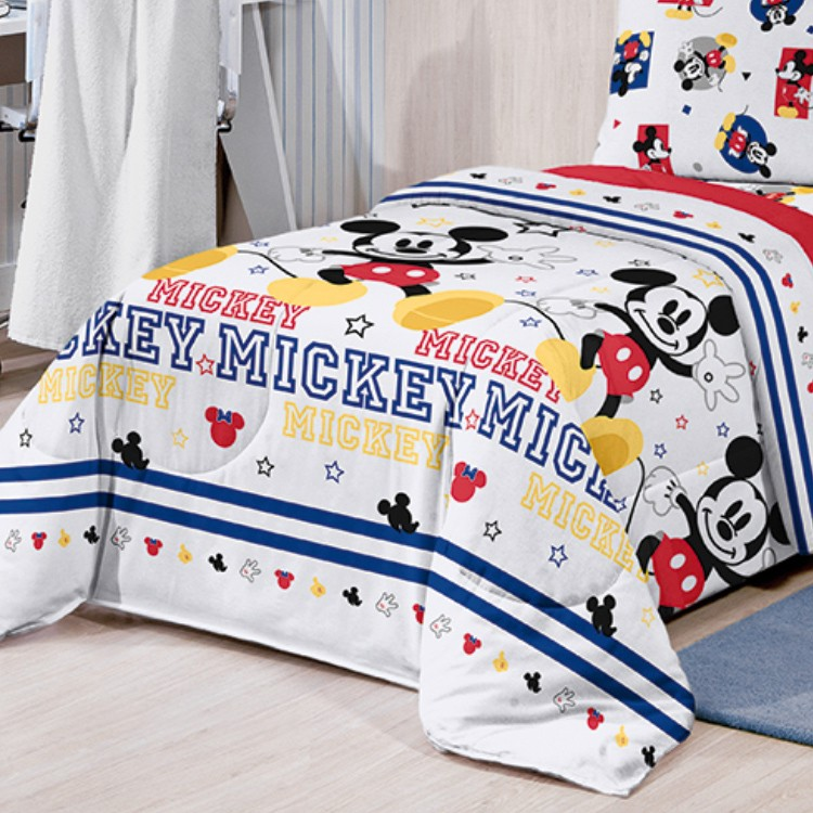 Edredom Infantil Mickey Play Santista