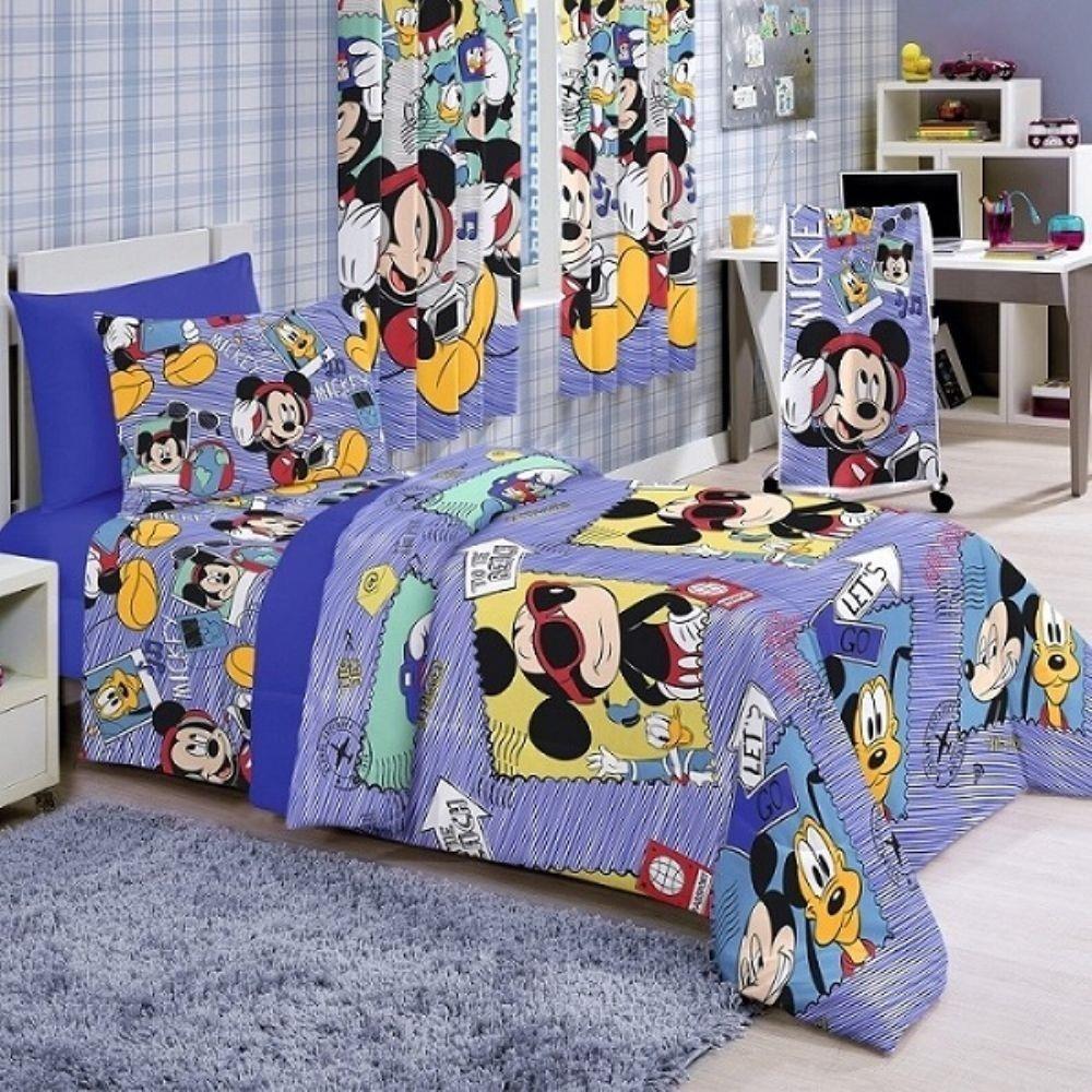 Edredom Infantil Santista Mickey Sound