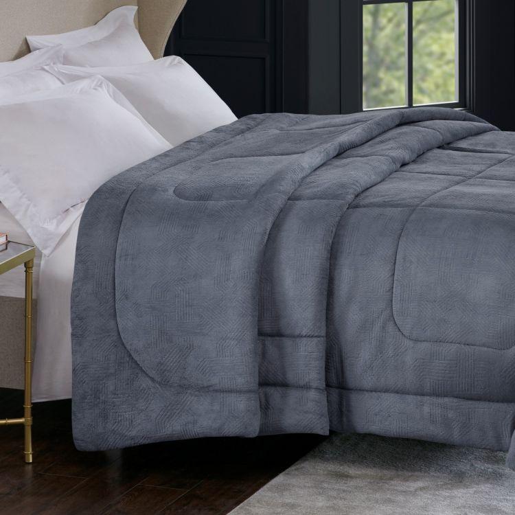 Cobertor King Alaska Home Design Arquimedes Chumbo