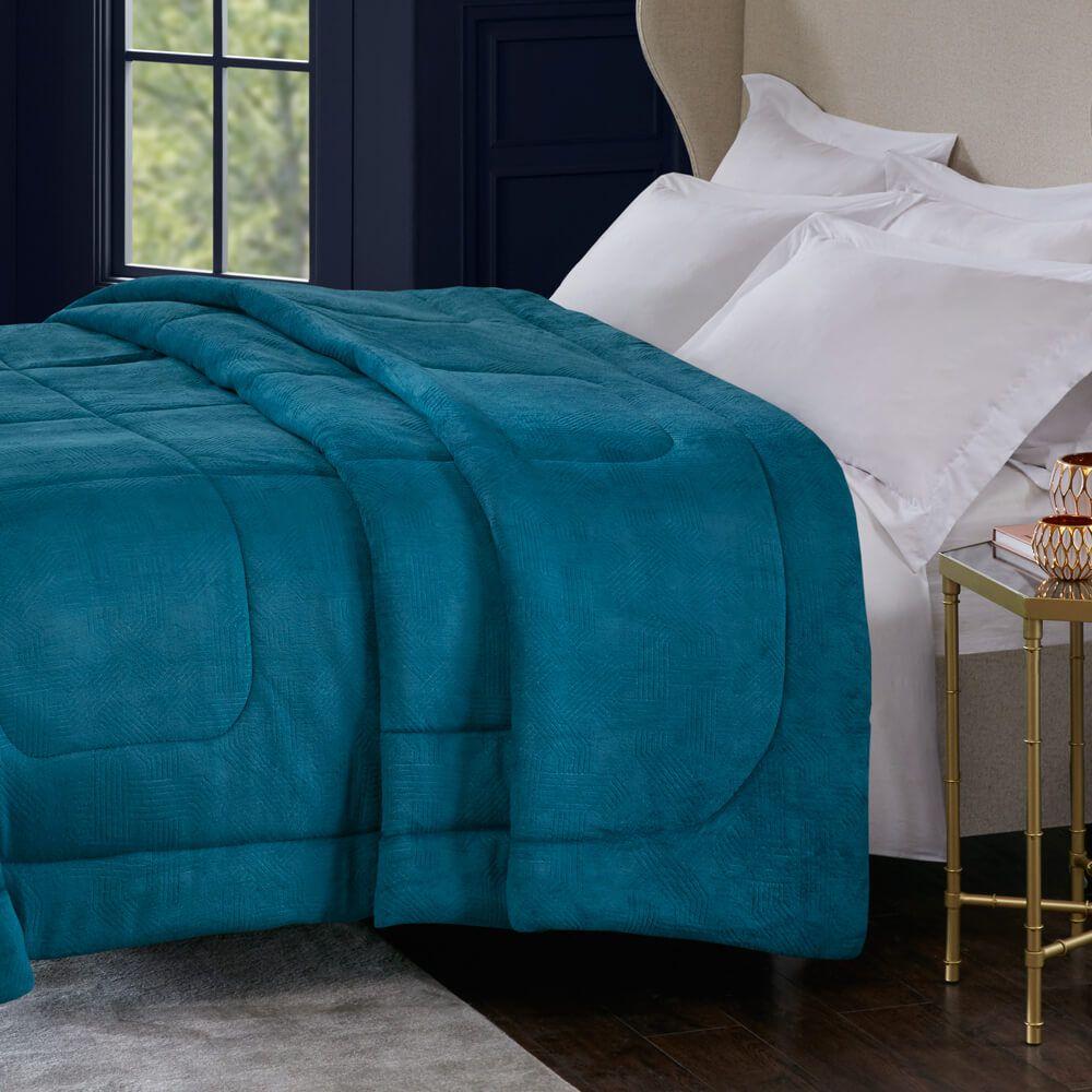Edredom Queen Alaska Arquimedes Azul