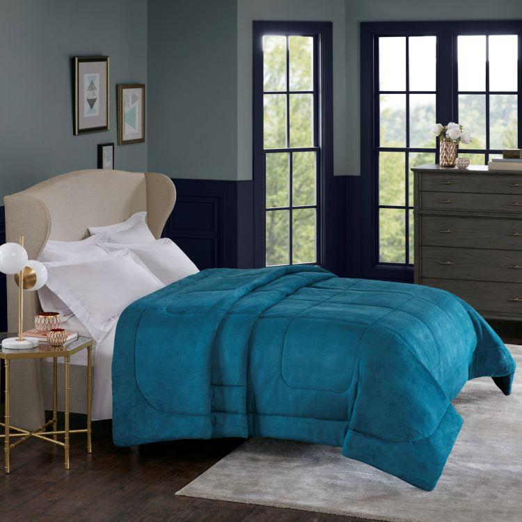 Edredom Queen Alaska Home Design Arquimedes Azul