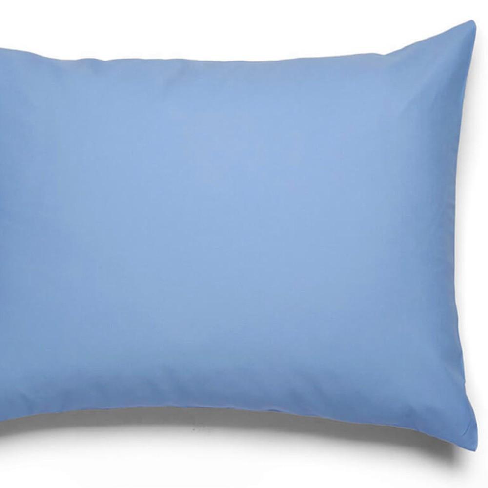 Fronha Avulsa 100% Algodão Royal Lisa Azul