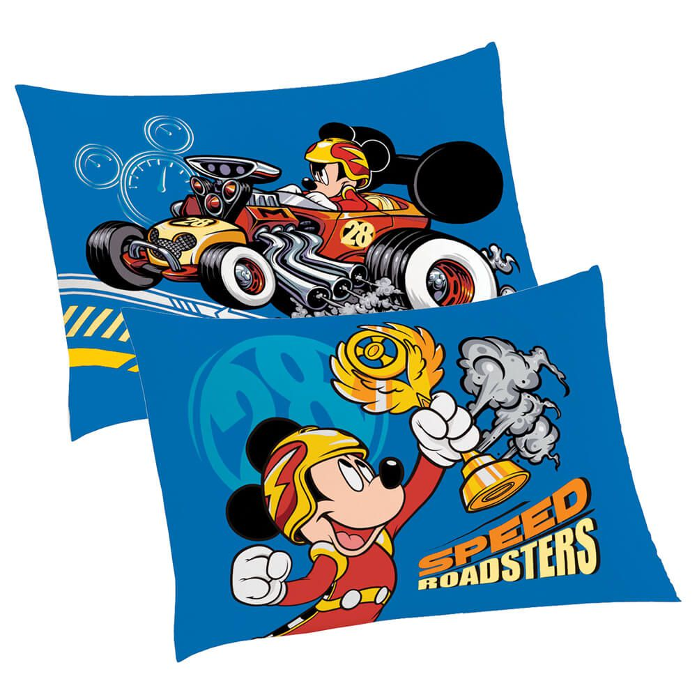 Fronha Infantil Avulsa Mickey Speed Roadster