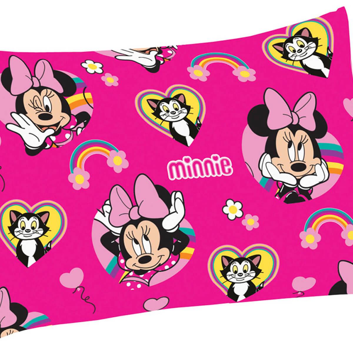Fronha Infantil Avulsa Microfibra Minnie