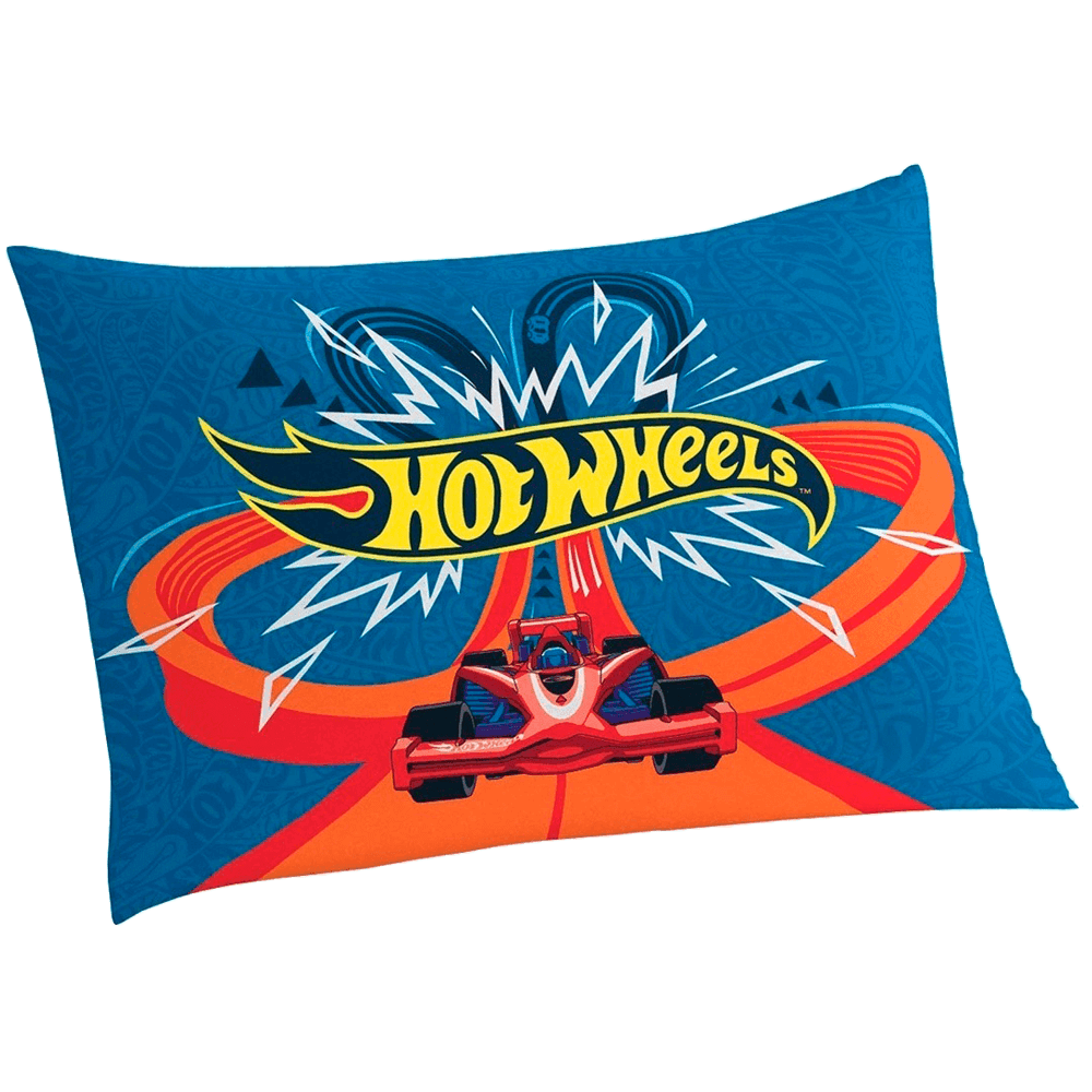 Fronha Infantil Hot Wheels