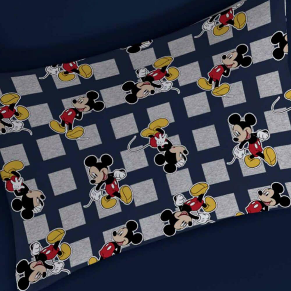 Fronha Infantil Malha Mickey