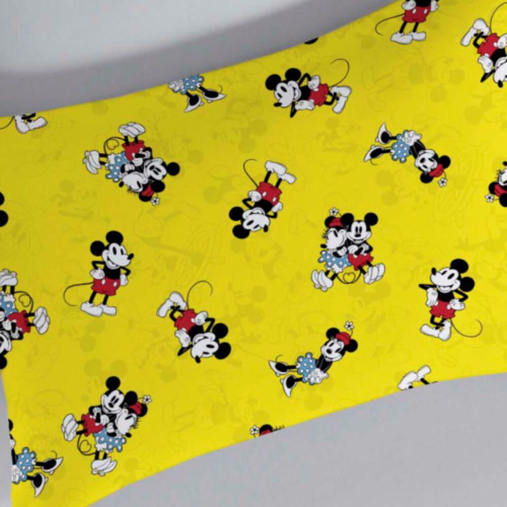 Fronha Infantil Malha Mickey 90 Anos